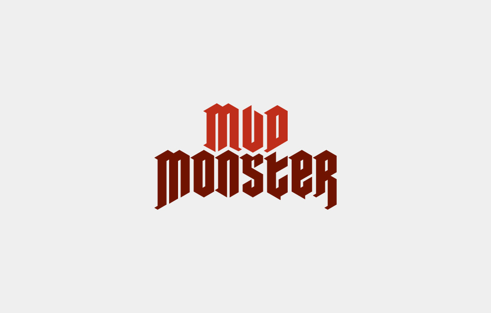 Mud Monster Logo – Jonathan Wood