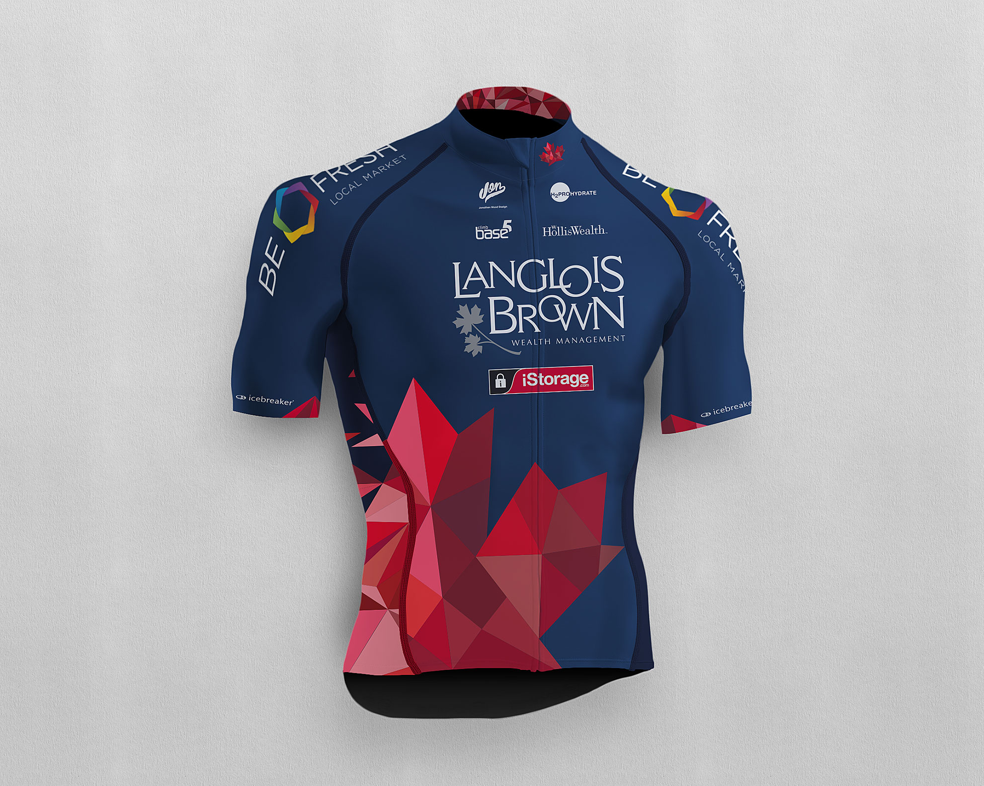 LB Racing Jersey – Jonathan Wood Design